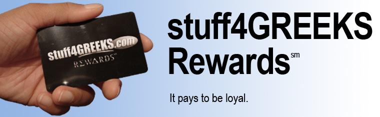 stuff4GREEKS Rewards