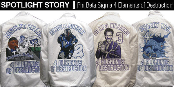 Spotlight Story Phi Beta Sigma 4 Elements Of Destruction
