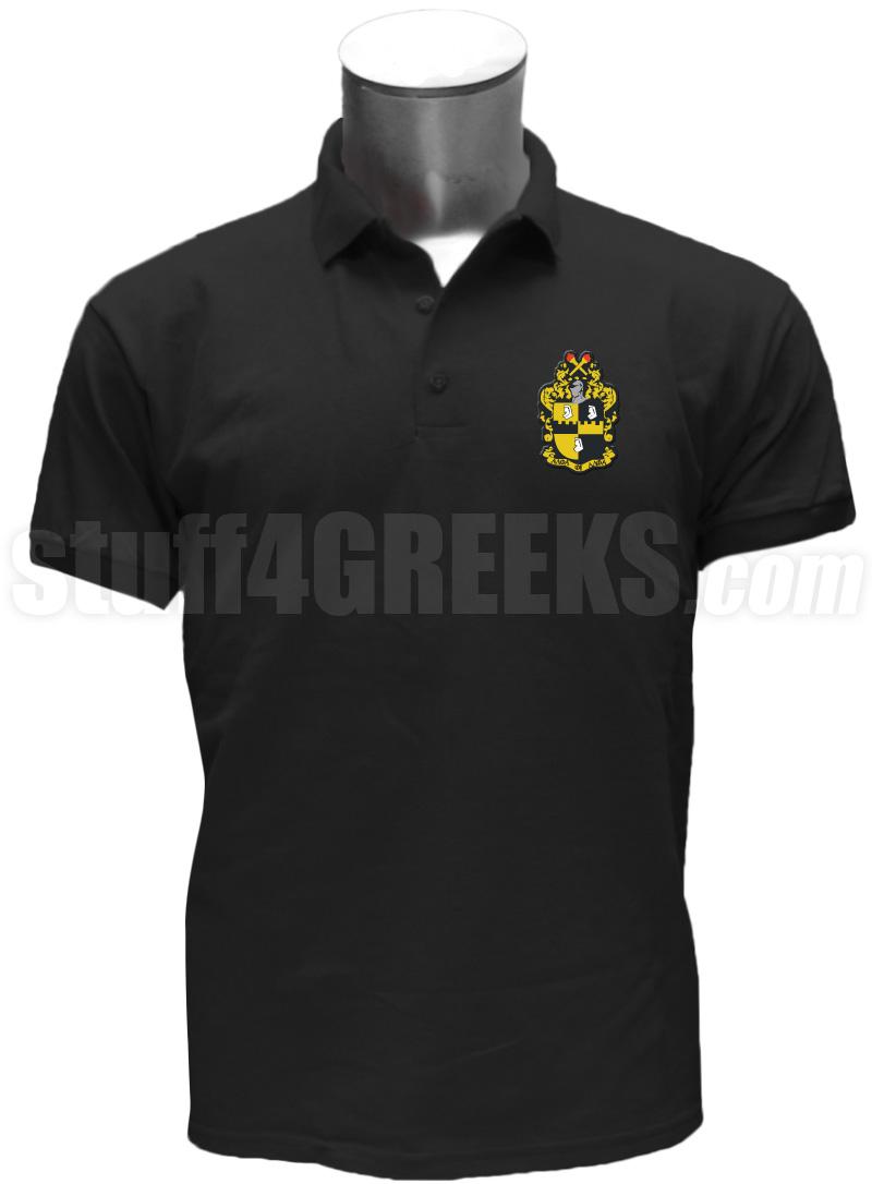 alpha phi alpha crest polo shirt