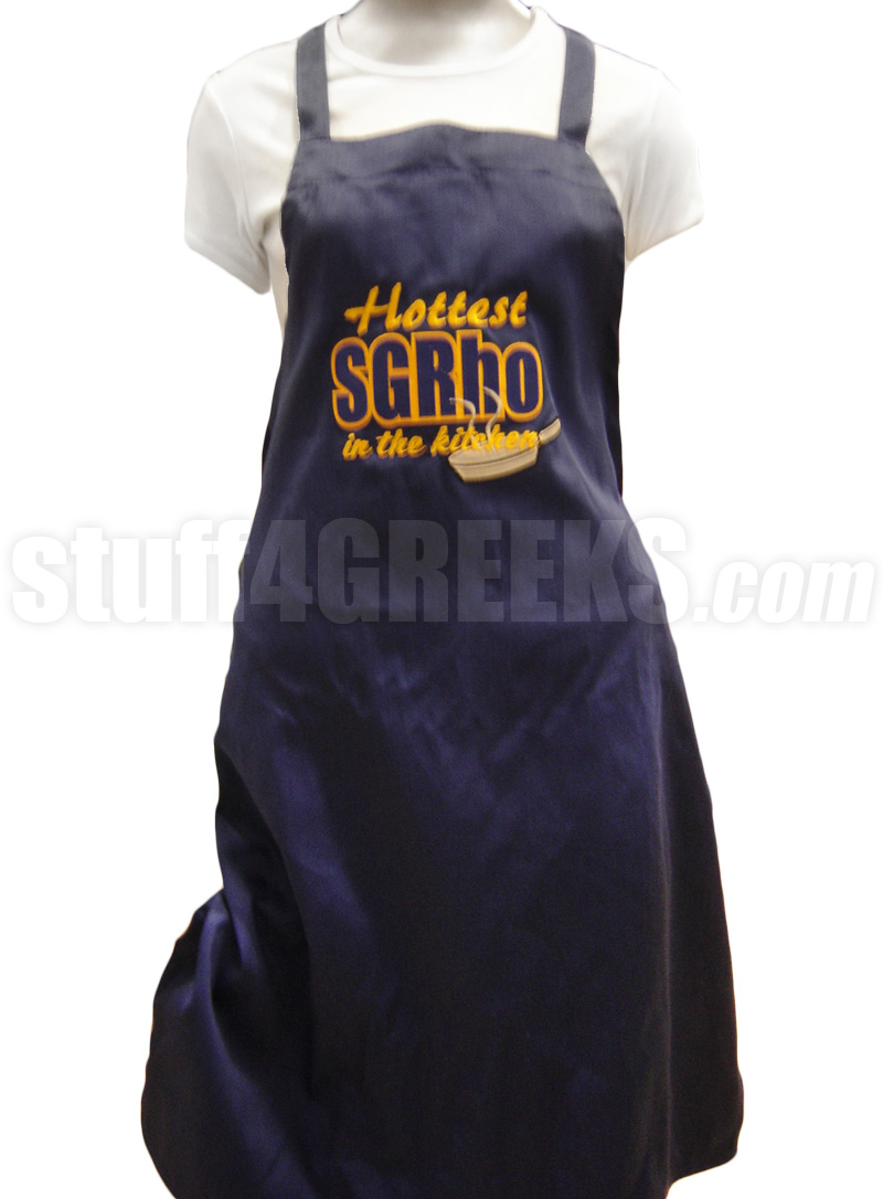 ... Kitchen Apron, Blue. Zoom