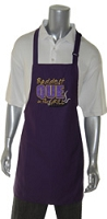 Baddest Que on the Grill Apron