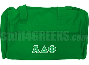 Alpha Delta Phi Duffel Bag, Kelly Green