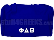 Phi Delta Theta Duffel Bag, Royal Blue