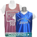 Personalized Embroidered Basketball Jersey