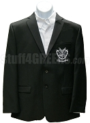 Groove Phi Groove Blazer Jacket with Crest, Black