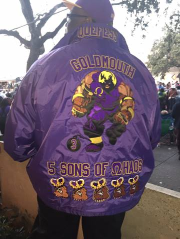 Omega Psi Phi Goldmouth - Custom Line Jacket