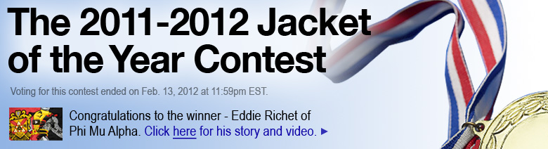 The 2011 Jacket of the Year Contest