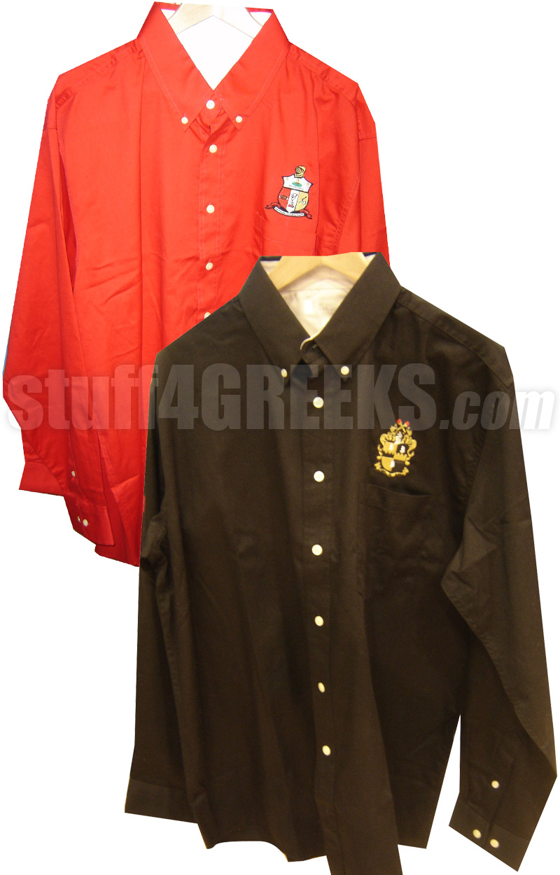 Custom Mens Fraternity Button Down Shirt