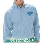 Custom Mens Fraternity Button-Down Shirt