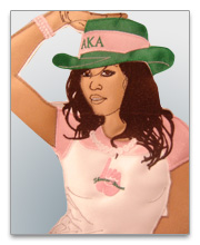 Alpha Kappa Alpha Patches