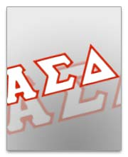 Alpha Sigma Delta Dog Tags