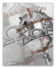 Delta Omega Epsilon Dog Tags