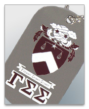 Gamma Sigma Sigma Dog Tags
