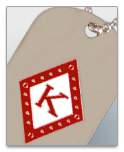 Kappa Alpha Psi Dog Tags