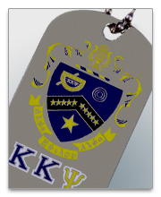 Kappa Kappa Psi Dog Tags