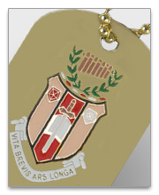 Sigma Alpha Iota Dog Tags
