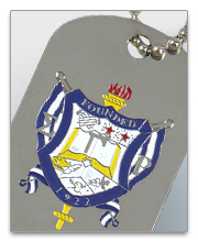 Sigma Gamma Rho Dog Tags