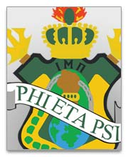 Phi Eta Psi Dog Tags