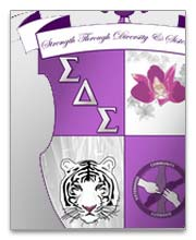 Sigma Delta Sigma Dog Tags