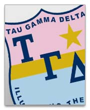 Tau Gamma Delta Dog Tags
