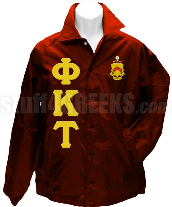 Phi Kappa Tau Crest Phi Kappa Tau Line Jacket