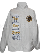 Tau Beta Sigma 1946 Line Jacket with Letters Thru and Crest, White