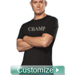 Custom Athletic Performance Screen Printed T-Shirt (Mens Short Sleeve)