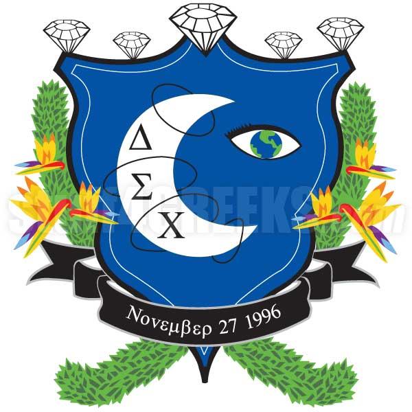 Delta Sigma Chi Crest Patch