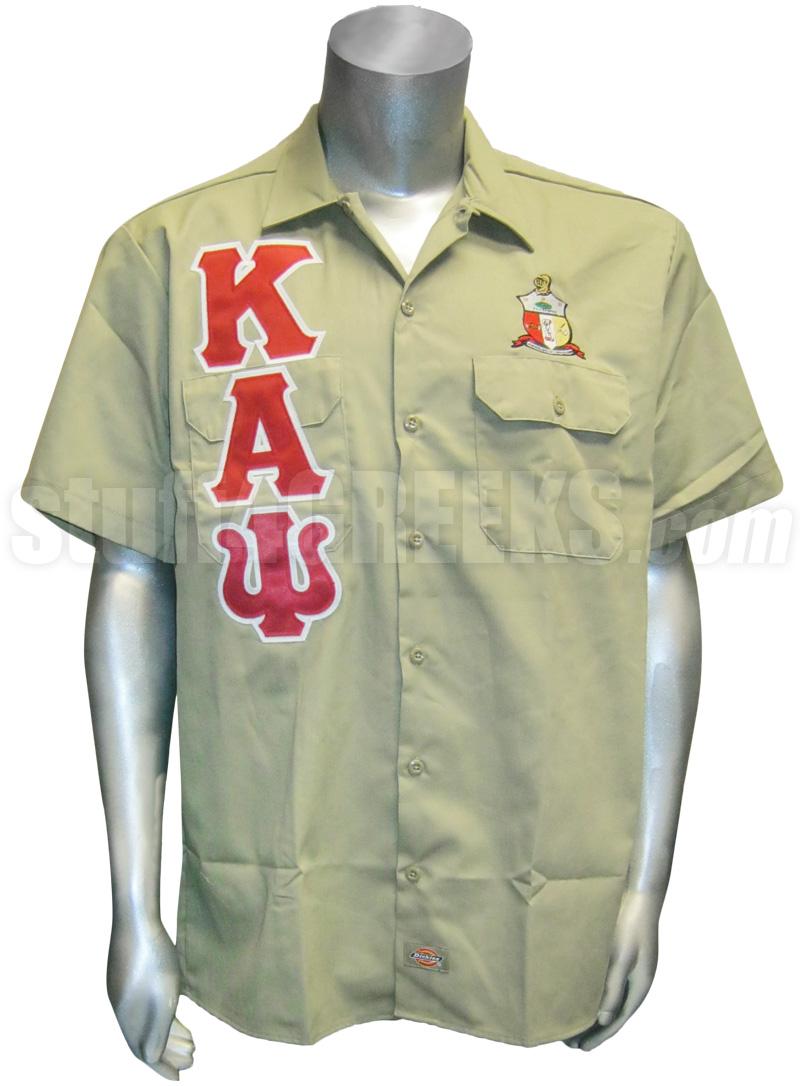 kappa alpha psi dickies shirt