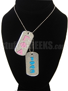 Gamma Phi Delta Double Dog Tag - Double with Founding Year