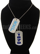 Kappa Kappa Gamma Dog Tags - Double with Founding Year