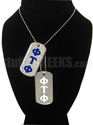 Phi Tau Phi Double Dog Tag