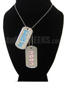 Sigma Beta Xi Double Dog Tag - Double with Founding Year