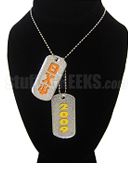 Theta Chi Psi Double Dog Tags - Double with Founding Year