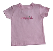 Pretty in Pink Screen Printed T-Shirt