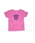 Pretty in Hot Pink and Purple Sigma Lambda Gamma Screen Printed T-shirt