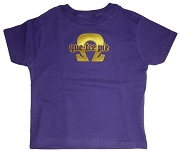 Que-Tee-Pie (Omega Psi Phi) Screen Printed T-Shirt