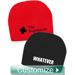 Personalized Embroidered Beanie Hat