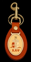 Kappa Alpha Psi Leather Fob Key Chain