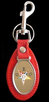 OES Leather Fob Key Chain