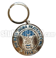 Phi Beta Sigma Heavyweight Metal Key Chain