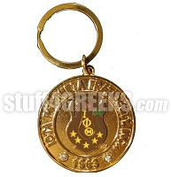 Iota Phi Theta Heavyweight Metal Key Chain