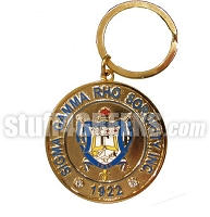 Sigma Gamma Rho Heavyweight Metal Key Chain