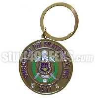 Omega Psi Phi Heavyweight Key Chain