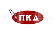 Pi Kappa Delta Key Chain with Greek Letters, Red