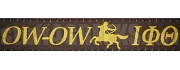 Iota Phi Theta Greek Letter Lanyard with Centaur, Brown