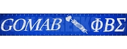 Phi Beta Sigma Greek Letter Lanyard with Gomab Ax, Royal Blue