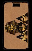 Alpha Phi Alpha Pharaoh Luggage Tag
