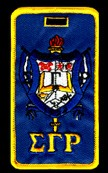 Sigma Gamma Rho Crest Luggage Tag