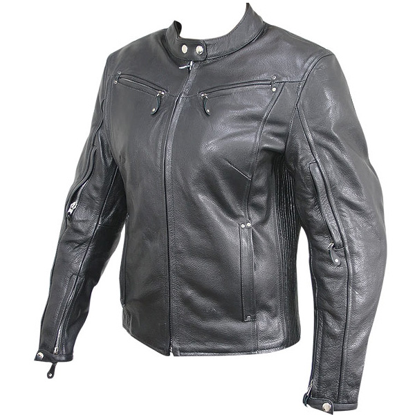 Women's Armored Leather Motorcycle Jacket 600 x 600 · 110 kB · jpeg